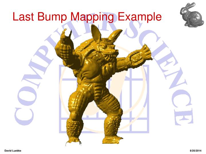 Last Bump Mapping Example