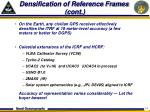 densification of reference frames cont
