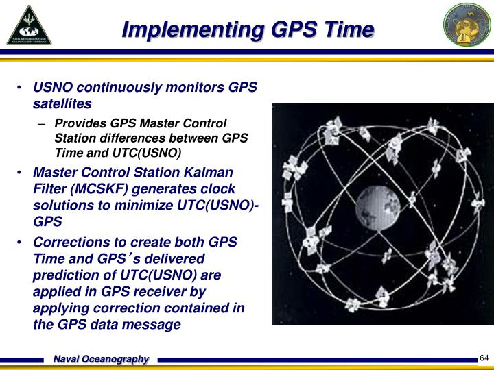 USNO continuously monitors GPS satellites