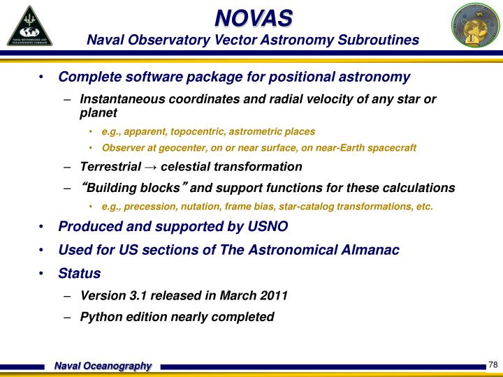 Complete software package for positional astronomy