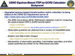 usno equinox based itrf to gcrs calculator background