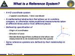 what is a reference system