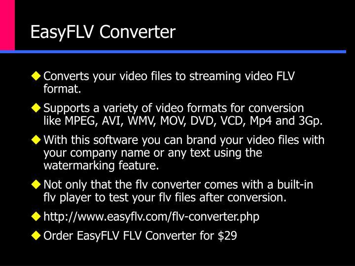 EasyFLV Converter