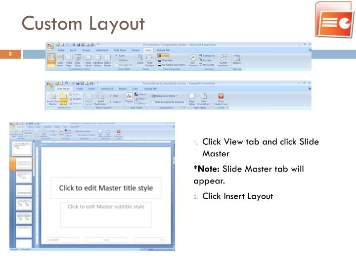 Custom Layout
