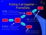 putting it all together framesets1