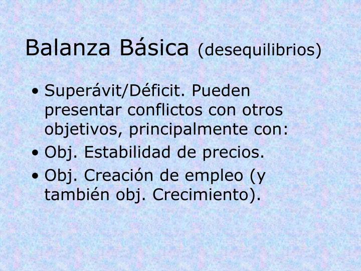 Balanza Básica