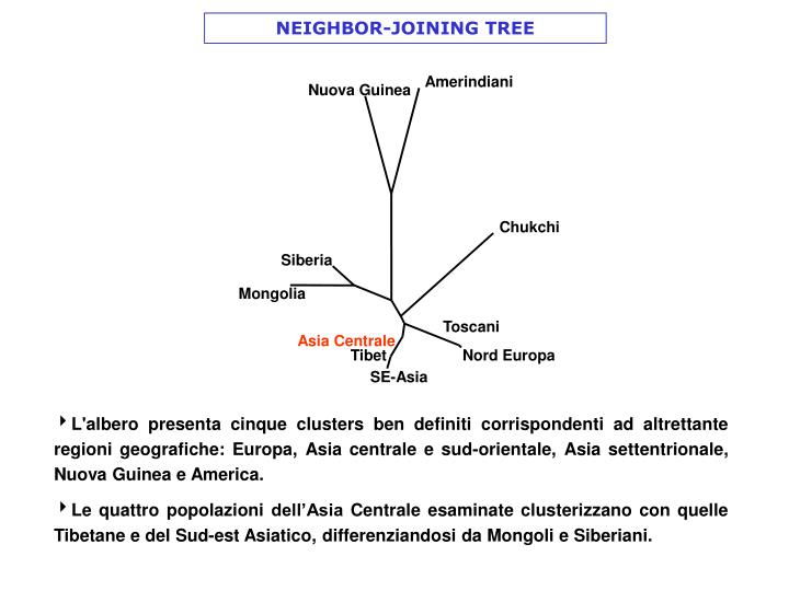 NEIGHBOR-JOINING TREE