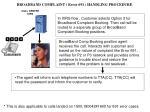 broadband complaint error 691 handling procedure