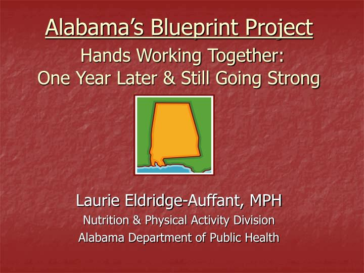 Alabama's Blueprint Project