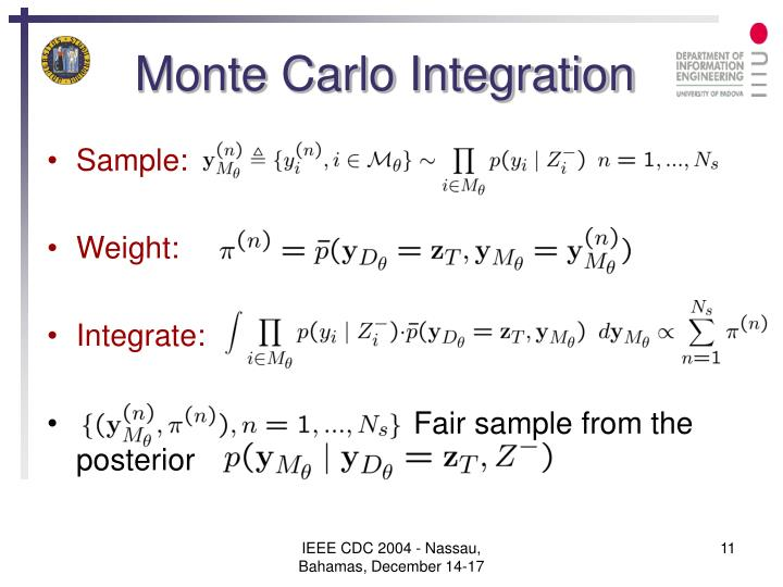 Monte Carlo Integration