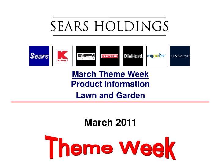 March Theme Week