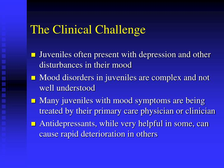 The Clinical Challenge