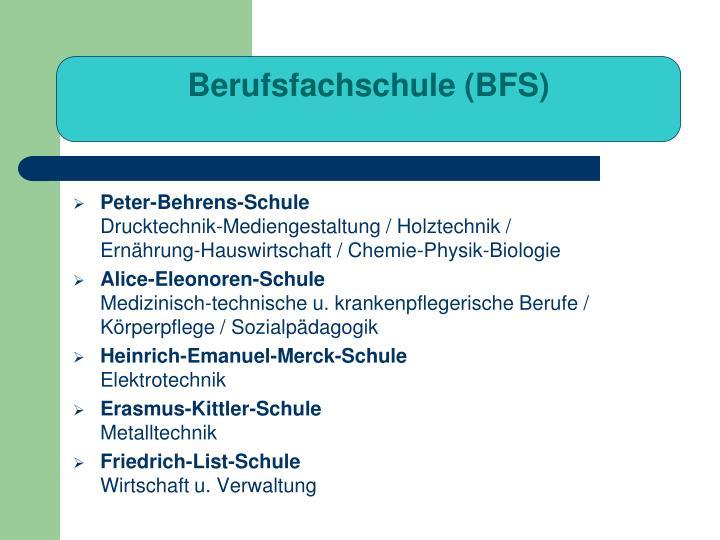 Berufsfachschule (BFS)