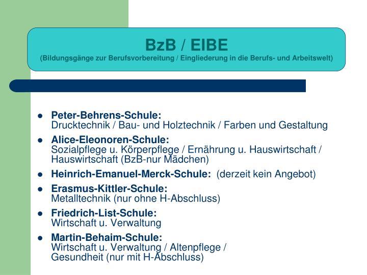 BzB / EIBE