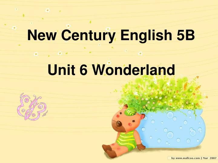 New Century English 5B
