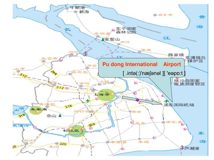 Pu dong International    Airport