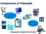 components of telehealth