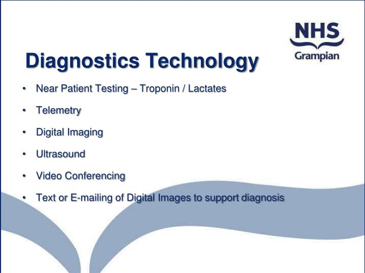 Diagnostics Technology