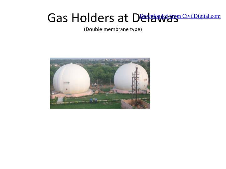 Gas Holders at Delawas