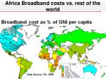africa broadband costs vs rest of the world