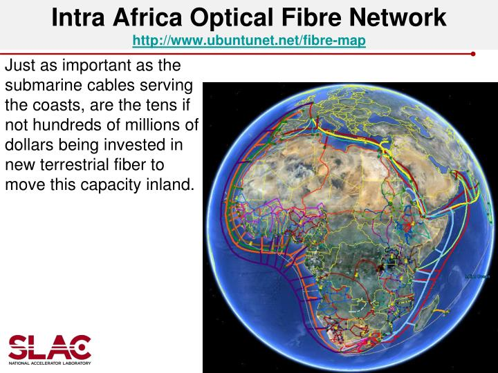 Intra Africa Optical Fibre Network