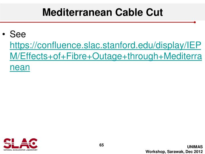 Mediterranean Cable Cut