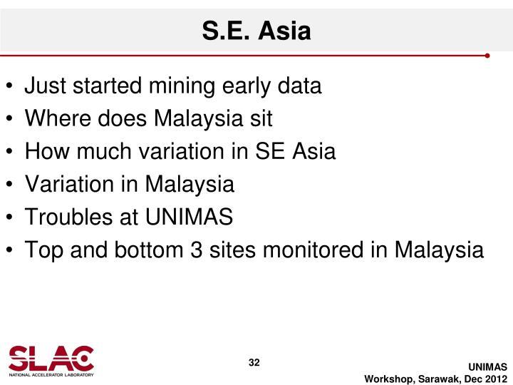 S.E. Asia