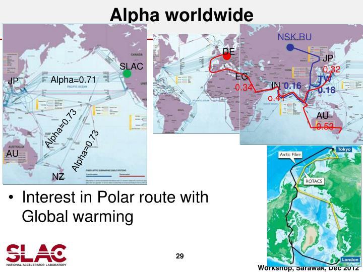 Alpha worldwide
