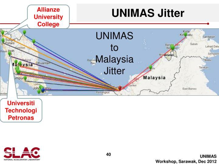 UNIMAS Jitter