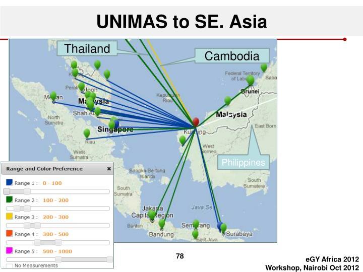 UNIMAS to SE. Asia