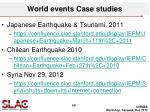 world events case studies