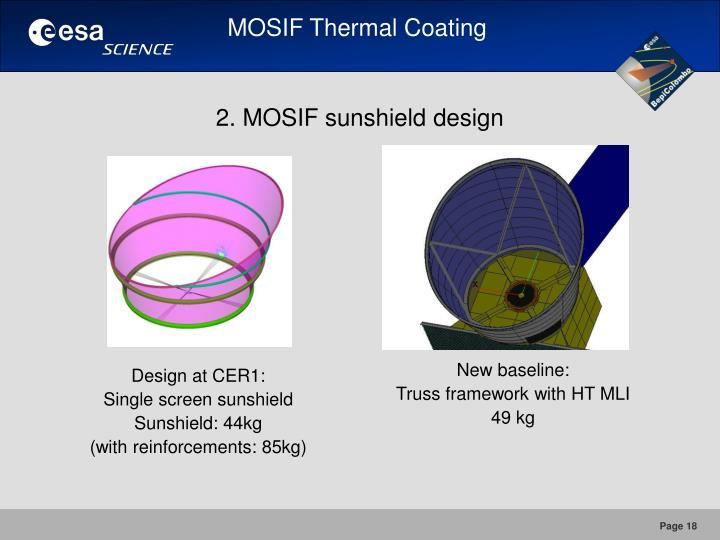 MOSIF Thermal Coating