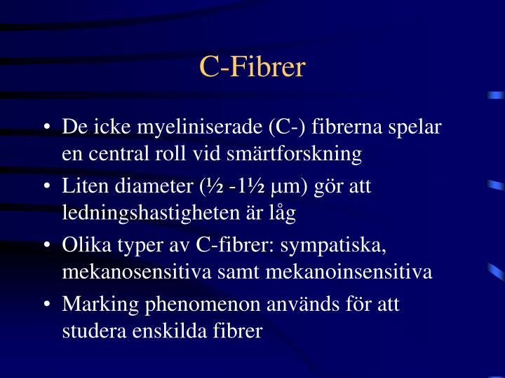C-Fibrer