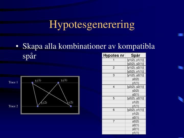 Hypotesgenerering