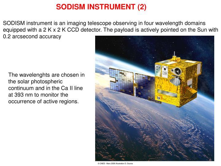 SODISM INSTRUMENT (2)