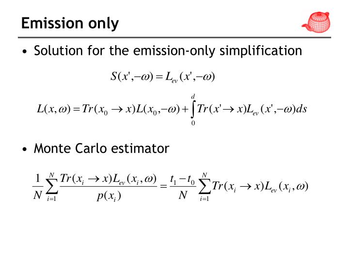 Emission only