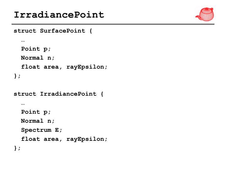IrradiancePoint