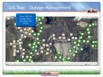 gis tool outage management