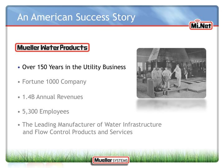 An American Success Story
