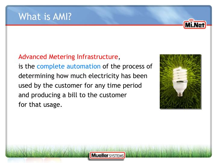 What is AMI?