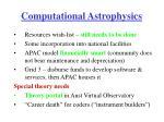 computational astrophysics