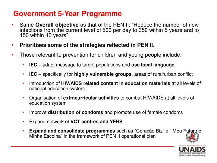Government 5-Year Programme