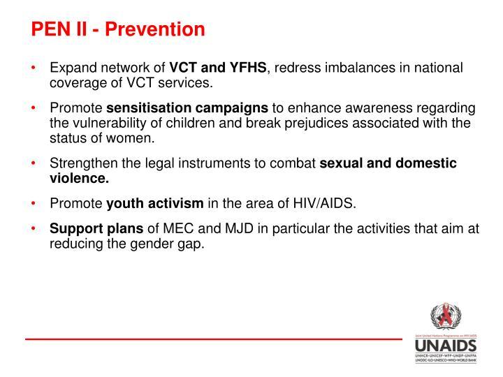 PEN II - Prevention
