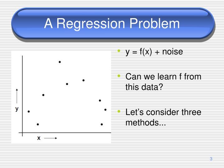 A Regression Problem