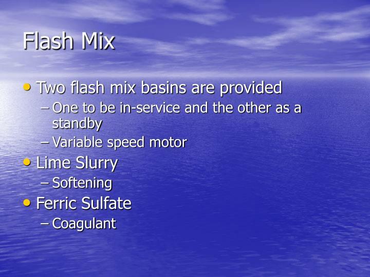 Flash Mix