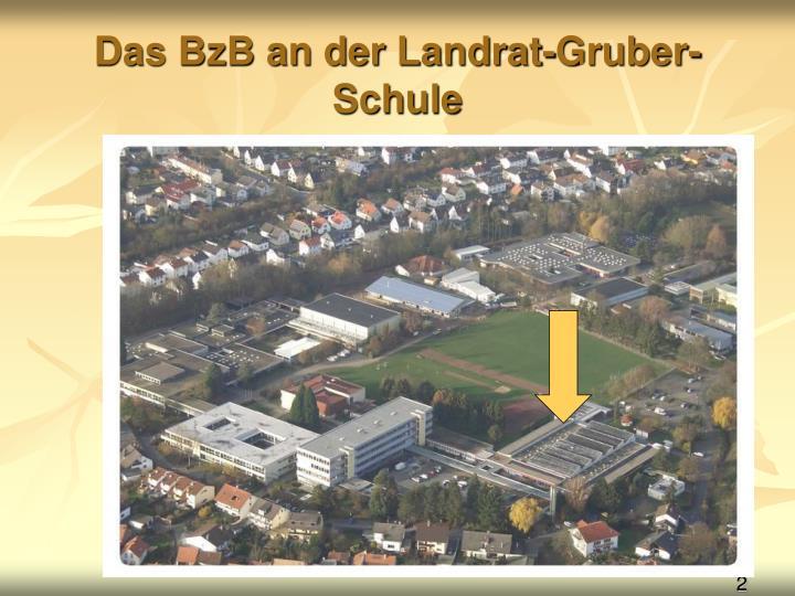 Das BzB an der Landrat-Gruber-Schule