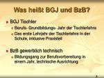 was hei t bgj und bzb
