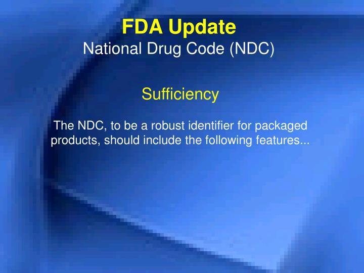 FDA Update