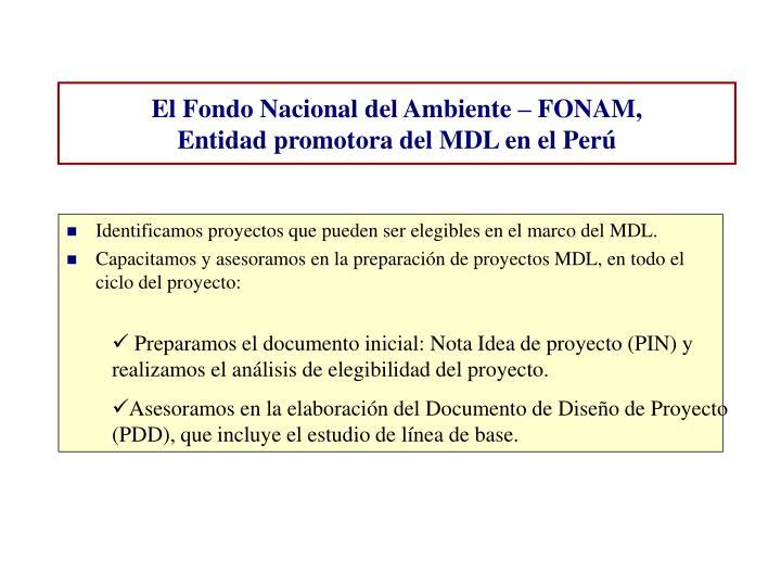 Identificamos proyectos que pueden ser elegibles en el marco del MDL.