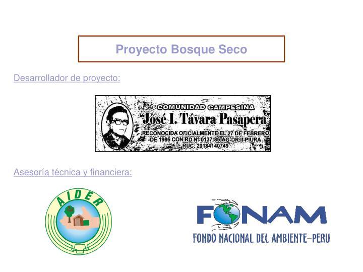 Proyecto Bosque Seco
